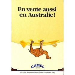 ABAO Publicité Camel - En vente aussi en Australie !