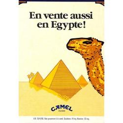 ABAO Publicité Camel - En vente aussi en Egypte !