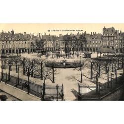 ABAO 75 - Paris [75] Paris 04 - La Place des Vosges.