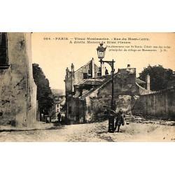 ABAO 75 - Paris [75] Paris 18 - Rue du Mont-Cenis.