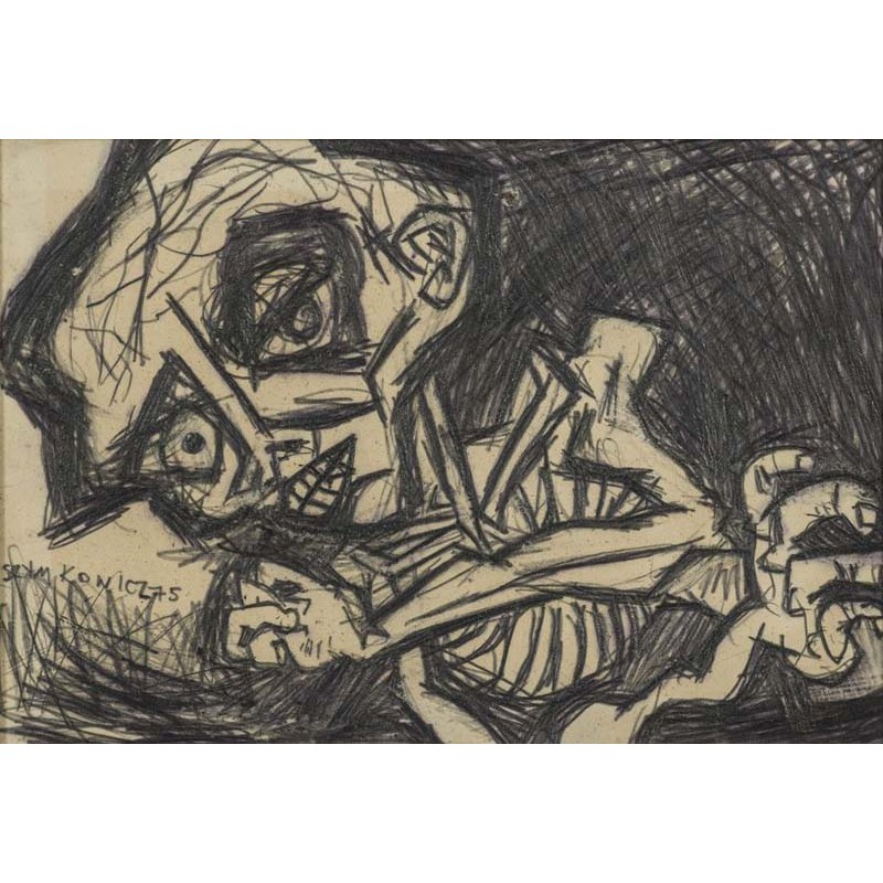 ABAO Art-gallery Szymkowicz (Charles) - Squelette.
