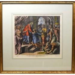 ABAO Gravures Chaperon (Nicolas) - Sacrae Historiae Acta, Reg. III. C. X.