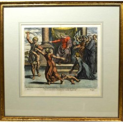 ABAO Gravures Chaperon (Nicolas) - Sacrae Historiae Acta, Reg. III. C. III.