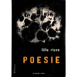 ABAO Poésie Rizzo (Titta) - Poesie. TL 250 ex. num. + envoi.