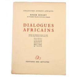 ABAO Littérature Bodart (Roger) - Dialogues africains.