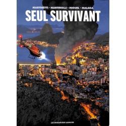 ABAO Bandes dessinées Seul survivant. Coffret 1 à 3.