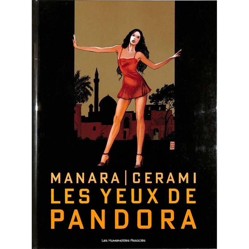 ABAO Bandes dessinées Les Yeux de Pandora