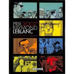 ABAO Bandes dessinées Travaux des lauréats - Prix Raymond Leblanc 2007