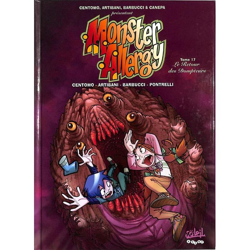 ABAO Bandes dessinées Monster Allergy 17