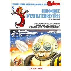 Bandes dessinées Chronique d'extraterrestres