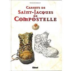 ABAO Bandes dessinées [Dermaut (François)] Carnets de Saint-Jacques de Compostelle.