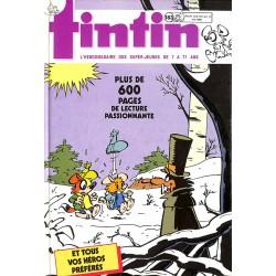 ABAO Bandes dessinées Tintin recueil 183 (B)