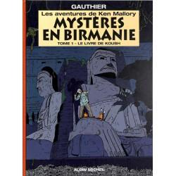 ABAO Bandes dessinées Mystères en Birmanie 01