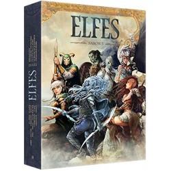 ABAO Bandes dessinées Elfes coffret saison 5 (21 à 25)
