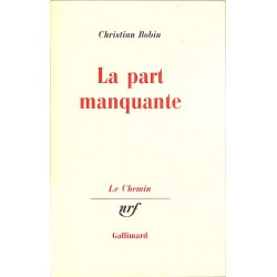 ABAO Romans Bobin (Christian) - La Part manquante.