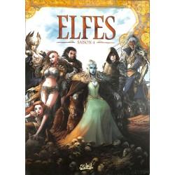 ABAO Bandes dessinées Elfes coffret saison 4 (16 à 20)