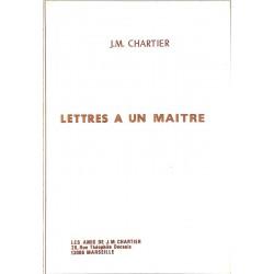 ABAO Franc-Maçonnerie Chartier (J.M.) - Lettres à un maître.