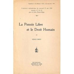 ABAO Franc-Maçonnerie Brisy (Serge) - La Pensée Libre et le Droit Humain.