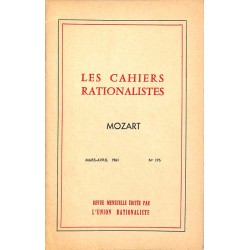 ABAO Divers Les Cahiers rationalistes 195 | Mozart