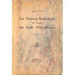 ABAO Franc-Maçonnerie Cock (Maurice) - Les Peintures symboliques du Temple des Amis Philanthropes.