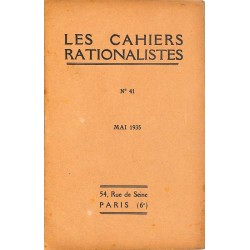 ABAO Divers Les Cahiers rationalistes 041