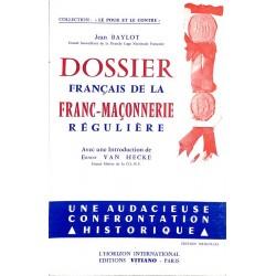 ABAO Franc-Maçonnerie Baylot (Jean) - Dossier français de la franc-maçonnerie régulière.