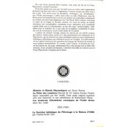 ABAO Franc-Maçonnerie Roman (Denys) - René Guénon et les destins de la franc-maçonnerie.