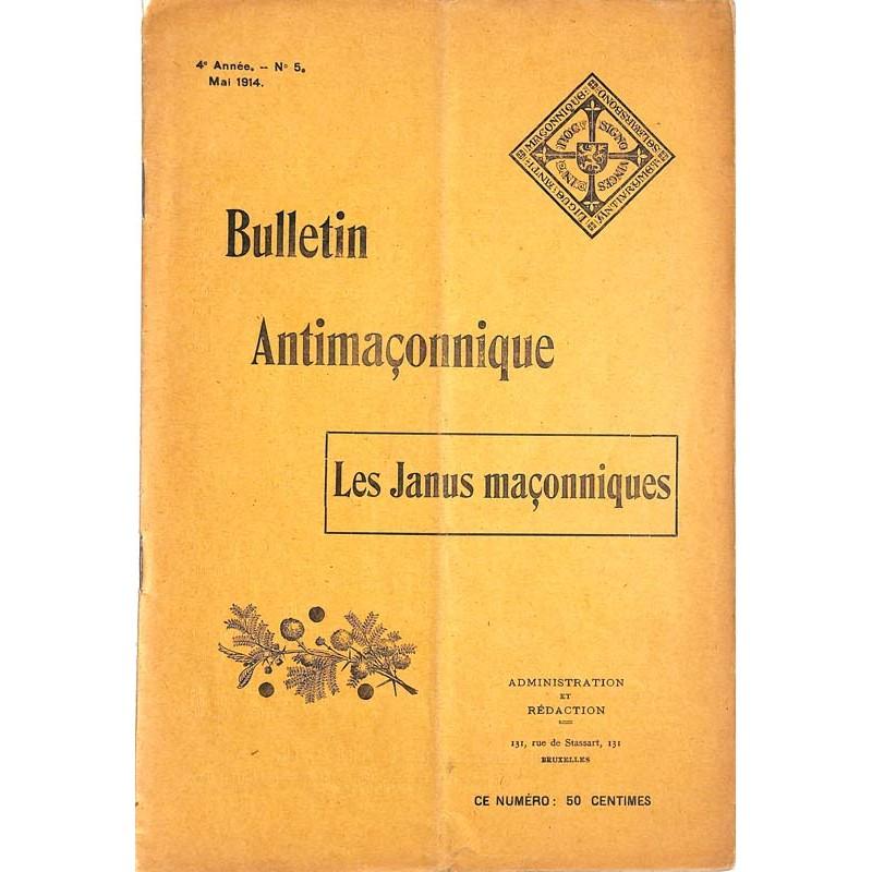 ABAO Franc-Maçonnerie [Anti-maçonnerie] Bulletin antimaçonnique. 1914-05.