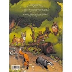 ABAO Bandes dessinées séraphin et les animaux de la forêt