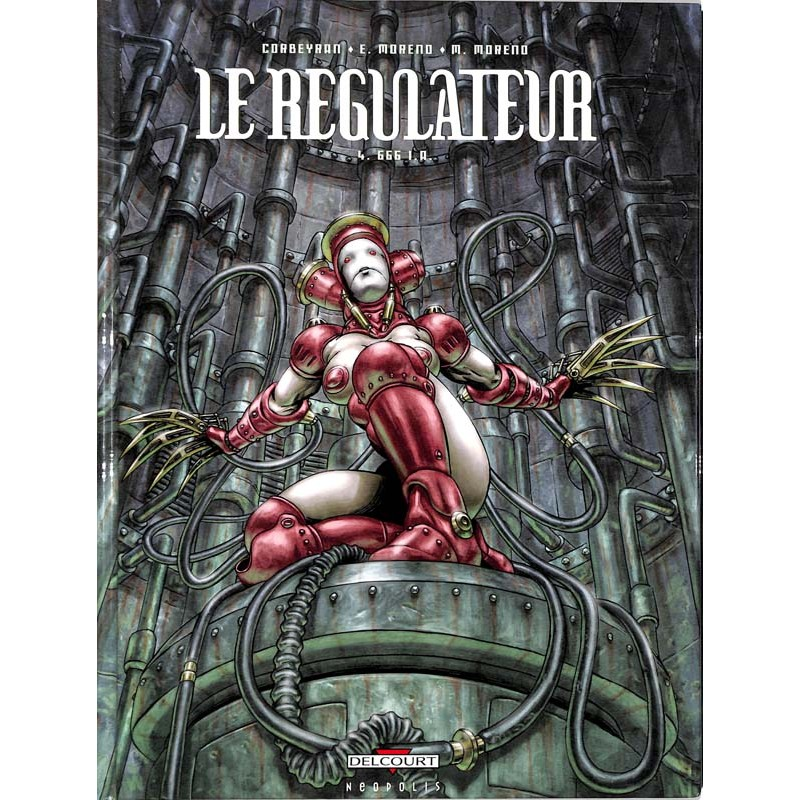 ABAO Bandes dessinées Le Régulateur 04