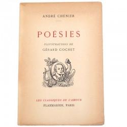 ABAO Poésie Chénier (André) - Poésies. Illustrations de Gérard cochet.