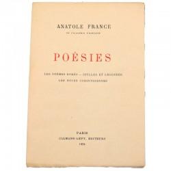 ABAO Poésie France (Anatole) - Poésies.