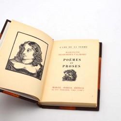 ABAO Poésie Desbordes-Valmore (Marceline) - Poèmes et proses.