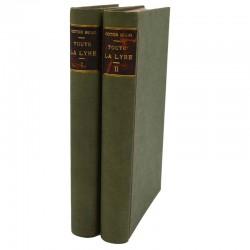 ABAO 1800-1899 Hugo (Victor) - Toute la lyre. 2 tomes. EO.