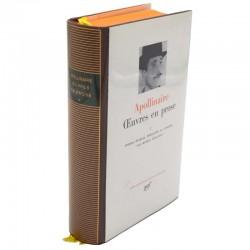 ABAO La Pléiade Apollinaire (Guillaume) - Œuvres en prose 1.