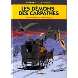 ABAO Bandes dessinées Les Démons des Carpathes 01
