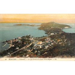 ABAO 06 - Alpes Maritimes [06] Beaulieu-sur-Mer - Panorama. Le Cap Ferrat et la Pointe Saint-Hospice.