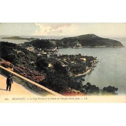 ABAO 06 - Alpes Maritimes [06] Beaulieu-sur-Mer - Le Cap Ferrat et la Pointe Saint-Hospice.