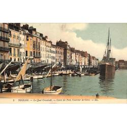 ABAO 83 - Var [83] Toulon - Le Quai Cronstadt. Carré du Port, Courrier de Corse.