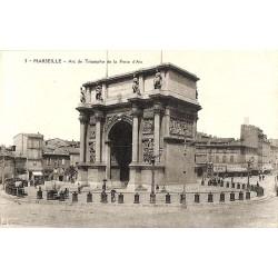 ABAO 13 - Bouches-du-Rhône [13] Marseille - Arc de Triomphe de la Porte d'Aix.