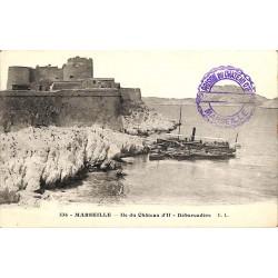 ABAO 13 - Bouches-du-Rhône [13] Marseille - Île du Château d'If. Débarcadère.