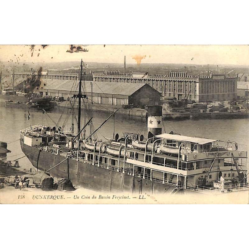 ABAO 59 - Nord [59] Dunkerque - Un Coin du Bassin Freycinet.