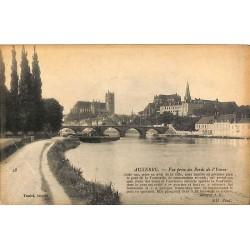 ABAO 89 - Yonne [89] Auxerre - Vue prise des bords de l'Yonne.