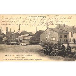 ABAO 54 - Meurthe-et-Moselle [54] Gorcy - Le Pont sur le ruisseau.