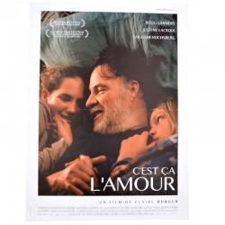 ABAO Cinéma C'est ça l'amour. [Affiche originale 40 x 53]
