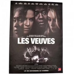 ABAO Cinéma Les Veuves. [Affiche originale 40 x 53]