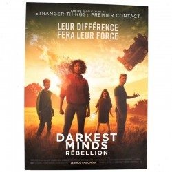 ABAO Cinéma Darkest minds : rébellion. [Affiche originale 40 x 53]