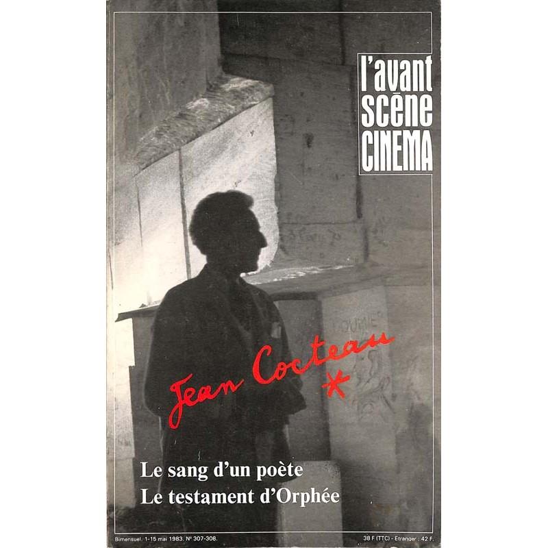 ABAO Avant scène cinéma (L') L'Avant scène cinéma 0307-0308. Jean Cocteau.