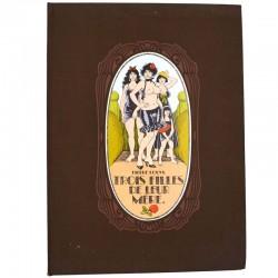 ABAO Curiosa Louÿs (Pierre) - Trois filles de leur mère. Illustrations de Georges Pichard. TL.