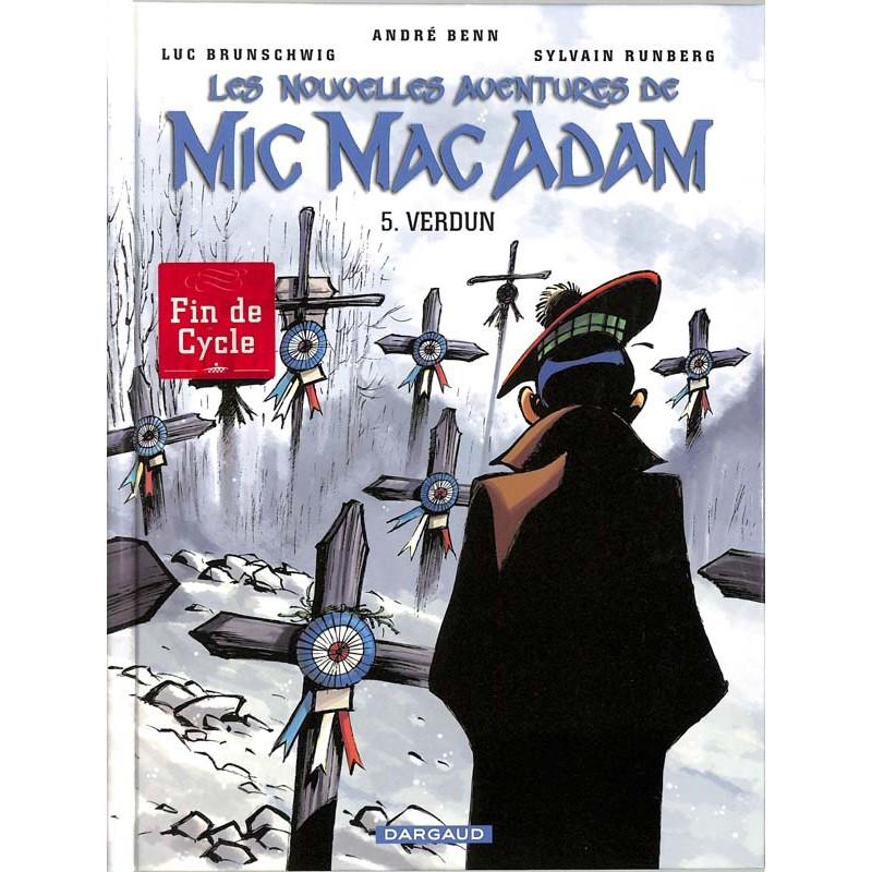 ABAO Bandes dessinées Les nouvelles aventures de Mic Mac Adam 05